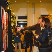 Holiday Cocktail and Art Expo